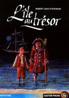 Couverture du livre « L'île au trésor » de Robert Louis Stevenson aux éditions Flammarion