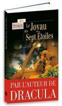 Couverture du livre « Le joyau des sept étoiles » de Bram Stocker aux éditions Terre De Brume