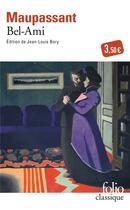 Couverture du livre « Bel-Ami » de Guy de Maupassant aux éditions Gallimard