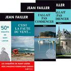 Couverture du livre « Fallait pas commencer ; c'est la faute du vent... » de Jean Failler aux éditions Palemon