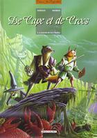 Couverture du livre « De cape et de crocs t.4 ; le mystère de l'île étrange » de Alain Ayroles et Jean-Luc Masbou aux éditions Delcourt
