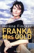 Couverture du livre « Franka » de Helene Fincker aux éditions Balland