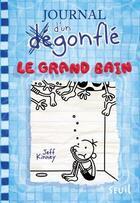 Couverture du livre « Journal d'un dégonflé T.15 ; le grand bain » de Jeff Kinney aux éditions Seuil Jeunesse