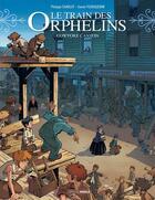 Couverture du livre « Le train des orphelins T.5 ; Cowpoke Canyon » de Philippe Charlot et Xavier Fourquemin et Scarlett Smulkowski aux éditions Bamboo