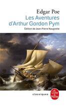 Couverture du livre « Les aventures d'arthur gordon pym » de Poe-E.A aux éditions Lgf