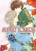 Couverture du livre « Super lovers T.1 » de Miyuki Abe aux éditions Taifu Comics
