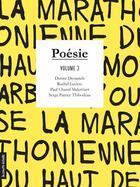 Couverture du livre « Poésie t.3 » de Denise Desautels et Rachel Leclerc et Serge-Patrice Thibodeau et Paul Chanel Malenfant aux éditions Courte Echelle