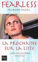 Couverture du livre « La Premiere Sur La Liste » de Francine Pascal aux éditions Fleuve Noir