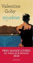 Couverture du livre « Murène » de Valentine Goby aux éditions Actes Sud