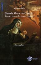 Couverture du livre « Sainte Rita de Cascia » de Marie Allain aux éditions Ex Aequo