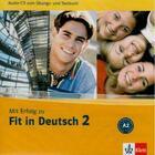 Couverture du livre « Fit in Deutsch 2 ; niveau A2 » de Collectif aux éditions La Maison Des Langues