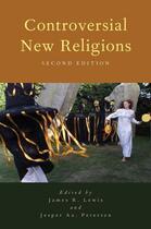 Couverture du livre « Controversial new religions (2e édition) » de James R. Lewis et Jesper Aagaard Petersen aux éditions Oxford Up Elt