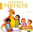 Couverture du livre « Mon dragon apprend à partager » de Lang Anna aux éditions Hachette Enfants
