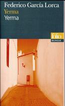 Couverture du livre « Yerma » de Federico Garcia Lorca aux éditions Gallimard