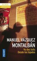 Couverture du livre « Vu des toits » de Vazquez Montalban M. aux éditions Langues Pour Tous