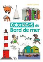 Couverture du livre « Coloriages Du Bord De Mer » de Laure Gomez aux éditions Geste