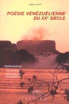 Couverture du livre « Poesie venezuelienne du xx siecle » de Diana Lichy aux éditions Patino