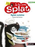 Couverture du livre « Splat cuisine » de Rob Scotton aux éditions Nathan