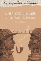 Couverture du livre « Sherlock Holmes et le pont du diable » de Christine Muller aux éditions Le Verger