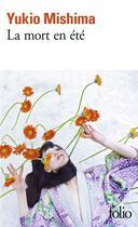 Couverture du livre « La mort en ete » de Yukio Mishima aux éditions Gallimard