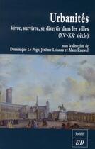 Couverture du livre « Urbanites » de Collectif aux éditions Pu De Dijon