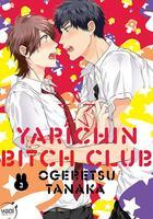 Couverture du livre « Yarichin Bitch Club T.3 » de Tanaka Ogeretsu aux éditions Taifu Comics