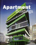 Couverture du livre « Apartment buildings » de Chris Van Uffelen aux éditions Braun