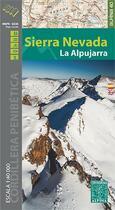 Couverture du livre « Sierra nevada 1/40.000 » de  aux éditions Alpina