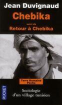 Couverture du livre « Chebika » de Jean Duvignaud aux éditions Pocket
