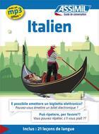 Couverture du livre « GUIDES DE CONVERSATION ; italien » de Jean-Pierre Guglielmi aux éditions Assimil