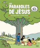 Couverture du livre « Les paraboles de Jésus en BD » de Ponsard et Kieffer aux éditions Mame