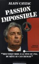 Couverture du livre « Passion impossible ;