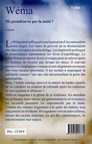 Couverture du livre « Wéma t.2 » de Elssy aux éditions Les Plumes D'ocris