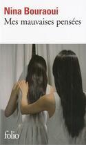 Couverture du livre « Mes mauvaises pensées » de Nina Bouraoui aux éditions Gallimard
