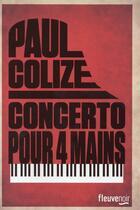 Couverture du livre « Concerto pour 4 mains » de Paul Colize aux éditions Fleuve Noir
