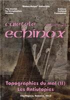 Couverture du livre « Topographies du mal t.2 ; les antiutopies » de Corin Braga aux éditions Pu De Valenciennes
