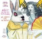 Couverture du livre « Alice au pays des merveilles ; de l'autre côté du miroir » de Lewis Carroll et Pat Andrea aux éditions Diane De Selliers