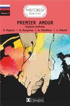 Couverture du livre « Histoires faciles à lire ; premier amour » de Collectif aux éditions Ophrys