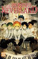 Couverture du livre « The promised Neverland T.7 » de Posuka Demizu et Kaiu Shirai aux éditions Kaze