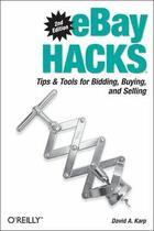 Couverture du livre « Ebay hacks » de David A. Karp aux éditions O Reilly