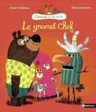 Couverture du livre « Le grand chef » de Marc Boutavant et Astrid Desbordes aux éditions Nathan