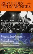 Couverture du livre « REVUE DES DEUX MONDES ; les nouveaux rivages d'internet » de Revue Des Deux Mondes aux éditions Revue Des Deux Mondes