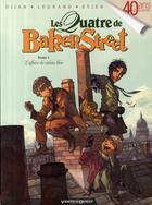 Couverture du livre « Les quatre de Baker street t.1 ; l'affaire du rideau bleu » de Olivier Legrand et David Etien et Djian aux éditions Vents D'ouest