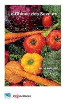 Couverture du livre « La chimie des saveurs » de Haim Tapiero aux éditions Edk