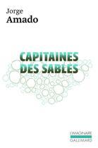 Couverture du livre « Capitaines des sables » de Jorge Amado aux éditions Gallimard