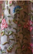 Couverture du livre « Balenciaga, Philippe Venet, Givenchy au château des princes de Beauvau Craon » de Christiane De Nicolay-Mazery aux éditions Flammarion