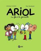 Couverture du livre « Ariol T.11 ; la fête à la grenouille » de Emmanuel Guibert et Marc Boutavant aux éditions Bd Kids