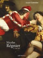Couverture du livre « Nicolas Régnier ; ca 1588-1667 » de Annick Lemoine aux éditions Arthena