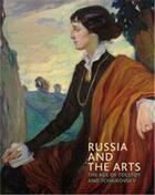 Couverture du livre « Russia and the arts » de Blakesley Rosalind P aux éditions National Portrait Gallery