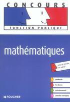 Couverture du livre « Mathematiques » de Guy Barussaud aux éditions Foucher